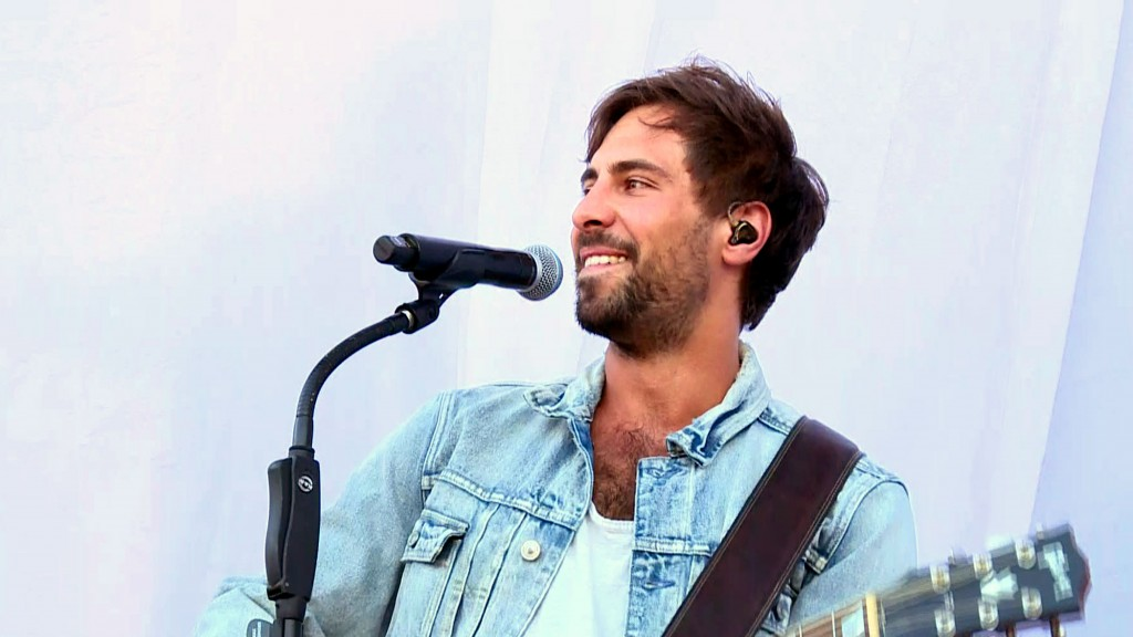 Max Giesinger on Stage (Foto: UNSERDING)