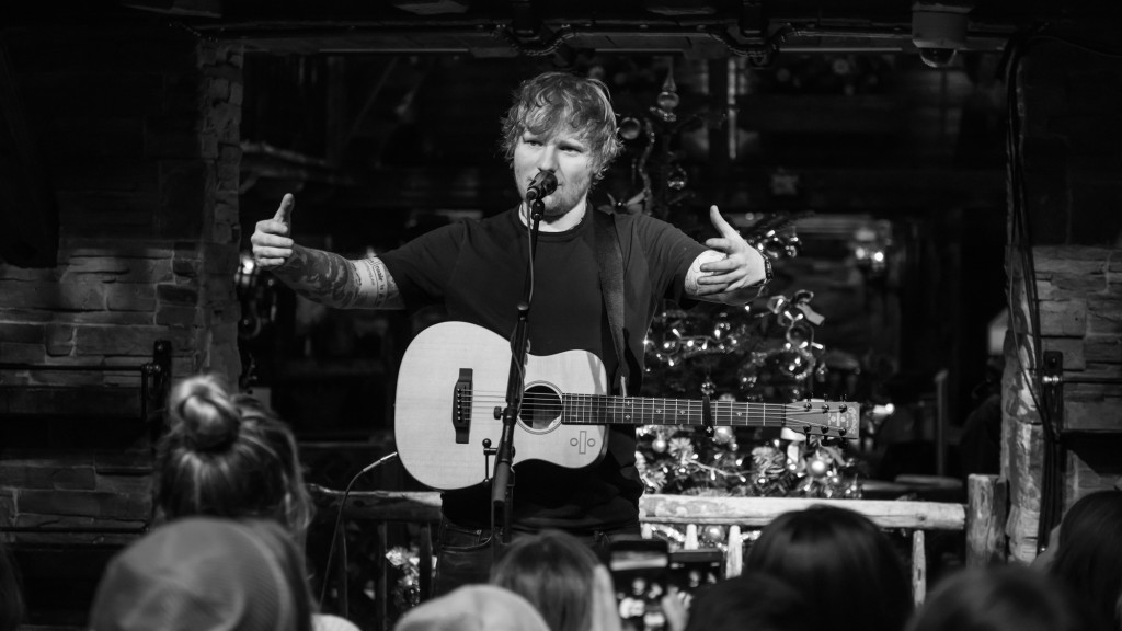 Ed Sheeran live (Foto:  Warner)
