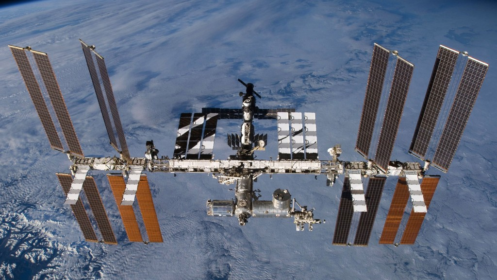 Die Internationale Raumstation ISS (Foto:dpa)