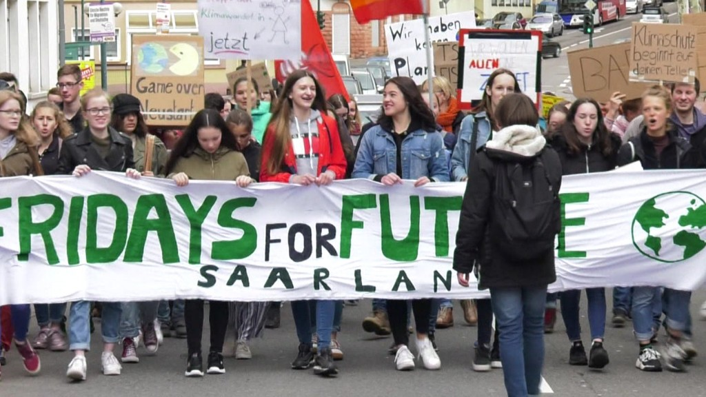 Jugendkultur heute: Fridays for Future-Demo in Saarbrücken (Foto: SR)
