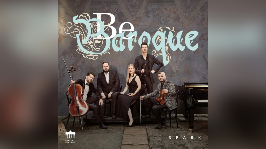 Cover: Spark - Be Baroque (Foto: Berlin Classics)