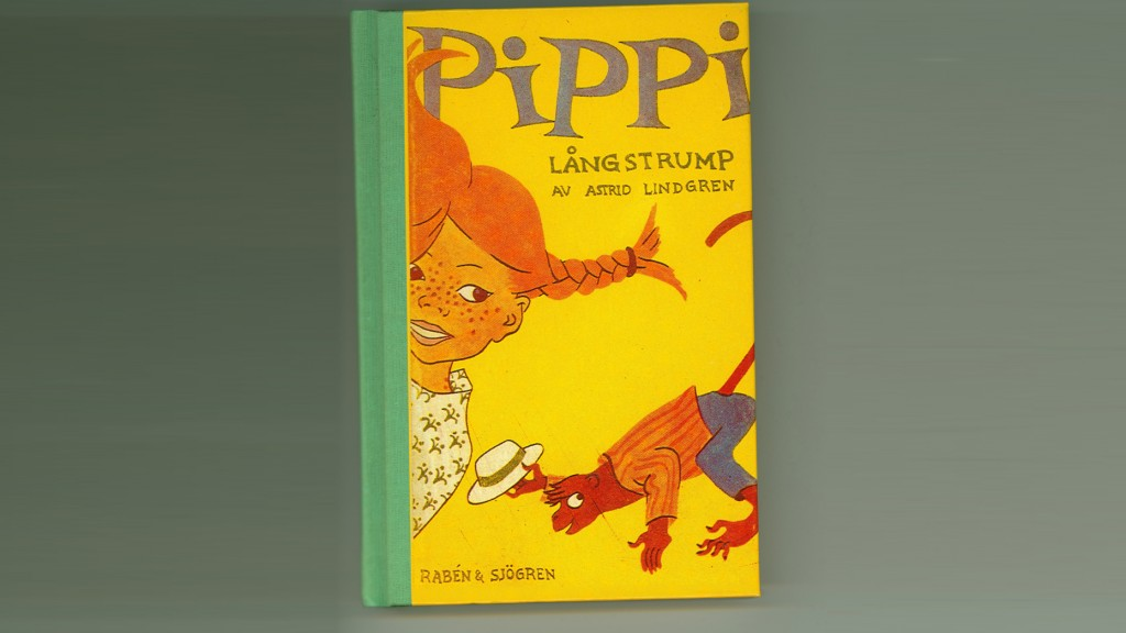 Pippi Langstrumpf, Erstausgabe (Foto: picture alliance/The Astrid Lindgren Company/dpa)