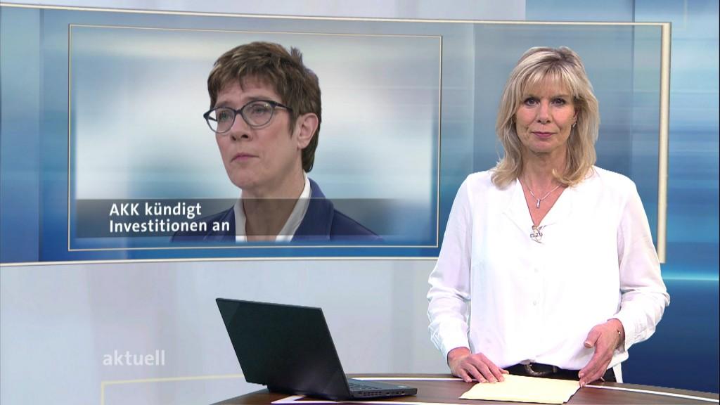 Annegret Kramp-Karrenbauer Ohne Brille
