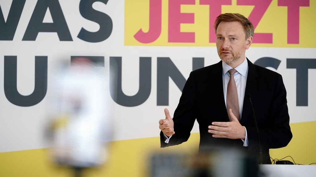 FDP-Chef Christian Lindner (Foto: picture alliance/dpa | Kay Nietfeld)