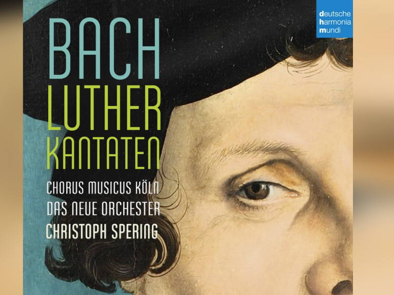 CD-Cover: Bachs Luther-Kantaten